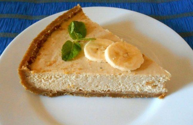 Рецепт чизкейка в домашних условиях с творогом и бананом рецепт