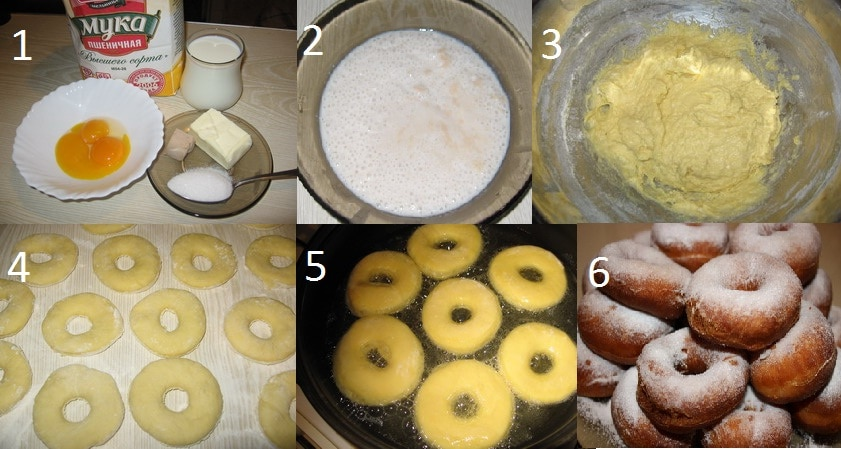 Как сделать тесто для пончиков