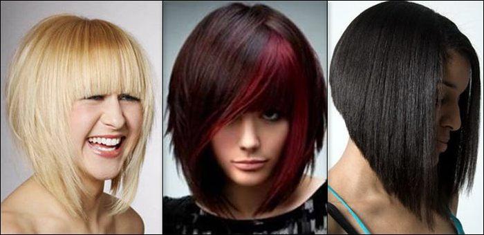Модные окрашивание 2017 на средние волосы с челкой женские