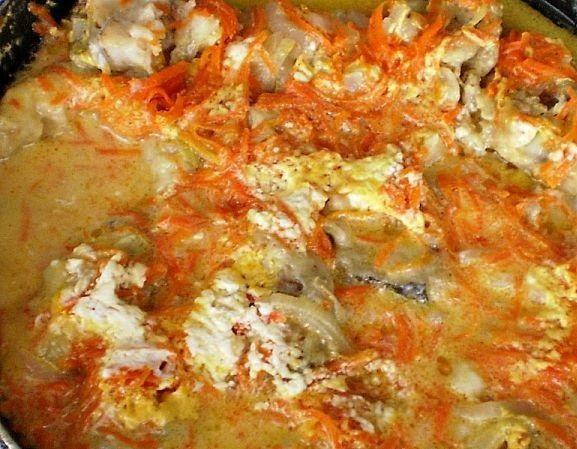 Рыба со сметаной в мультиварке рецепты с фото