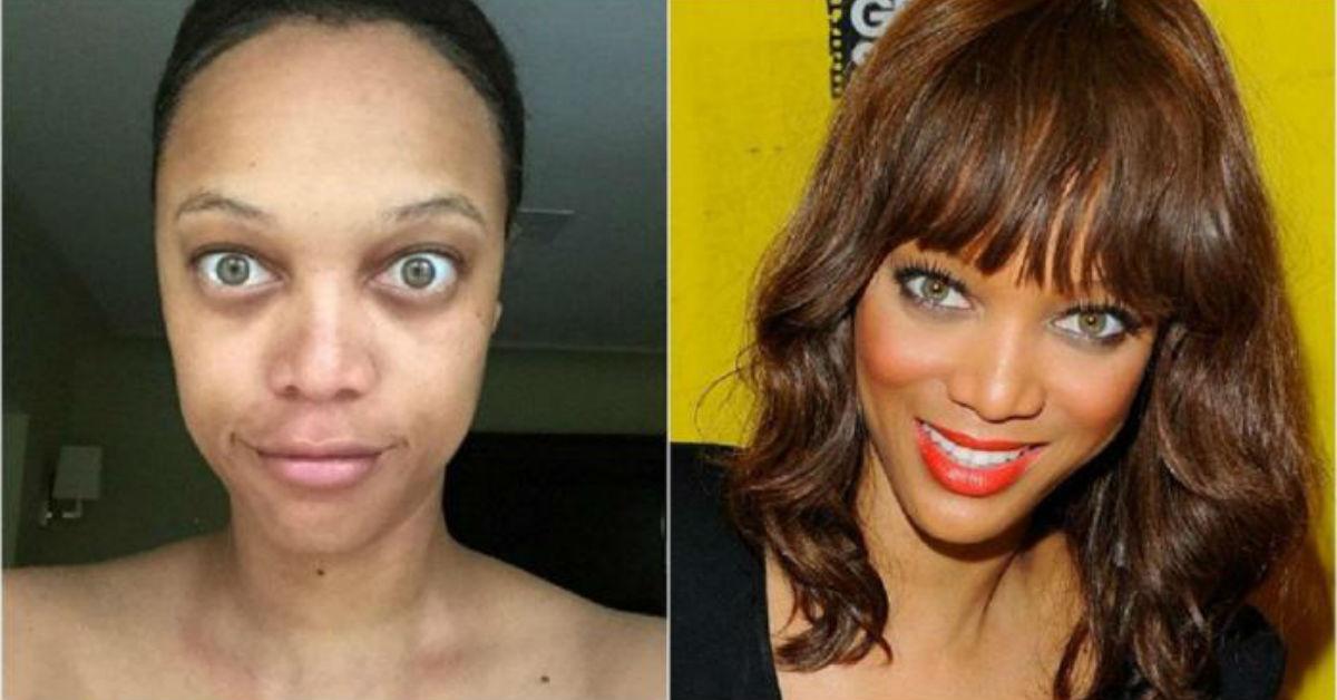 Без макияжа не узнать фото