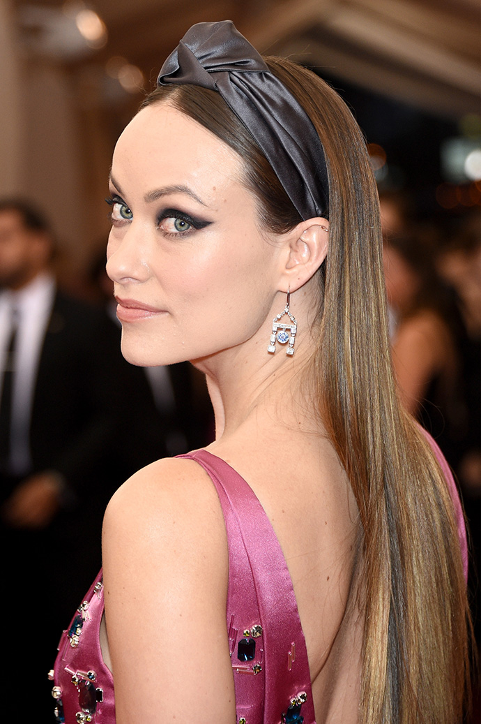 """NEW YORK, NY - MAY 04: Olivia Wilde attends the """"China: Through The Looking Glass"""" Costume Institute Benefit Gala at the Metropolitan Museum of Art on May 4, 2015 in New York City. (Photo by Larry Busacca/Getty Images)"""