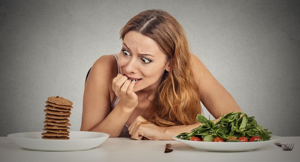 Есть сильное желание похудеть