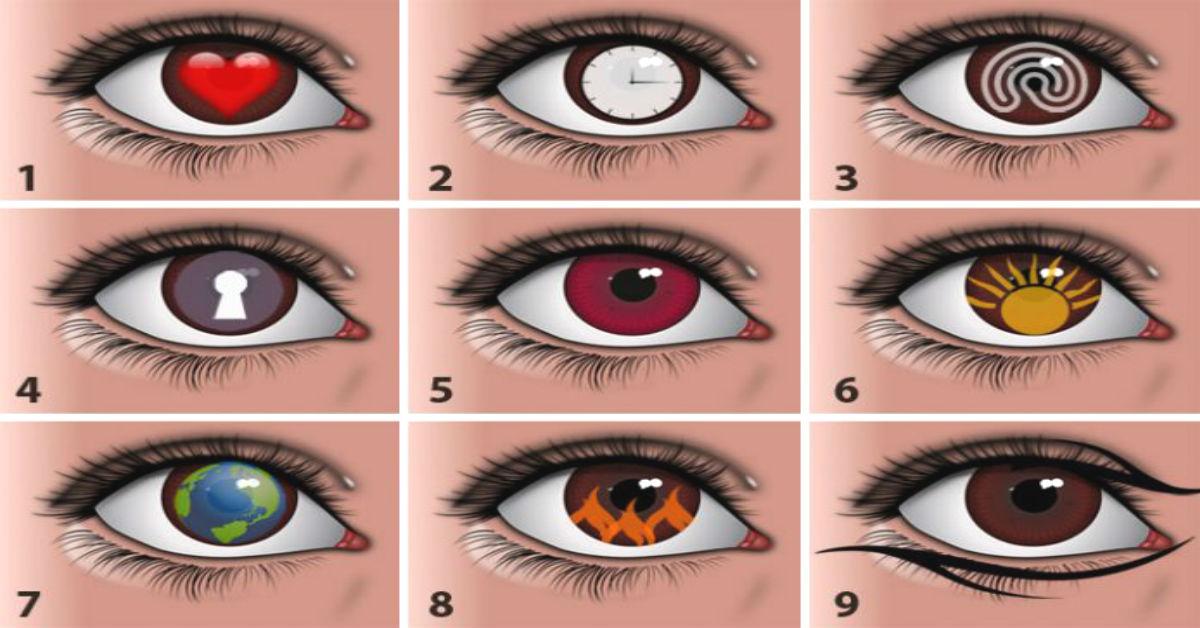 часть тесты глаз в картинках обучали