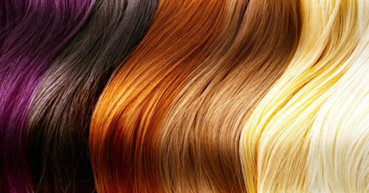 Картинка по окраске волос