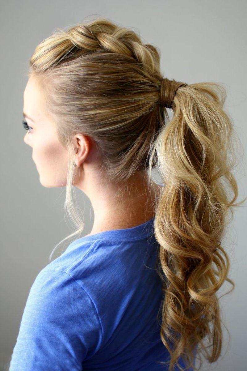 Картинки причесок на средние волосы повседневные